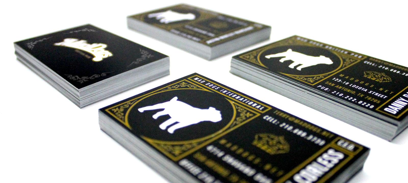 Mad Dogs Business Cards San Antonio Website Design Company Seo