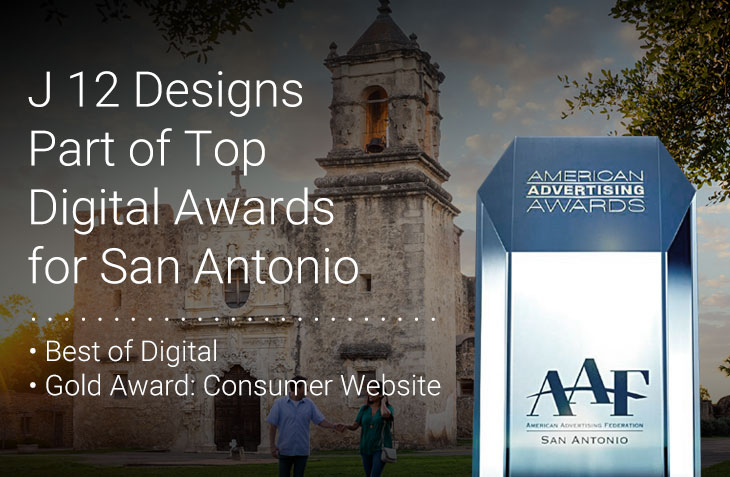 J 12 Designs Part of Top Digital Awards for San Antonio